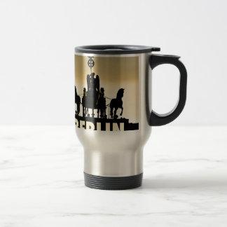 BERLIN Quadriga 002.1 Brandenburg Gate Travel Mug