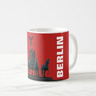 BERLIN Quadriga at Brandenburg Gate 2.2.T Coffee Mug