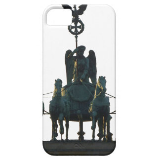 BERLIN Quadriga at Brandenburg Gate Barely There iPhone 5 Case