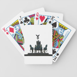 BERLIN Quadriga at Brandenburg Gate Bicycle Playing Cards