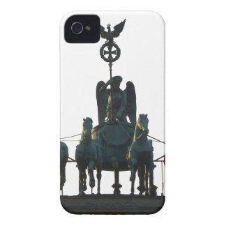BERLIN Quadriga at Brandenburg Gate iPhone 4 Covers