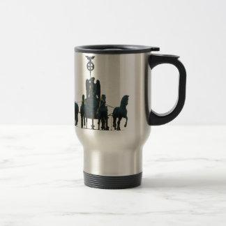 BERLIN Quadriga at Brandenburg Gate Travel Mug