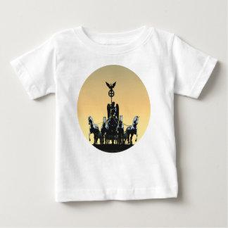 Berlin Quadriga Brandenburg Gate 002.1 rd Baby T-Shirt