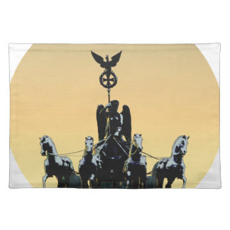 Berlin Quadriga Brandenburg Gate 002.1 rd Placemat