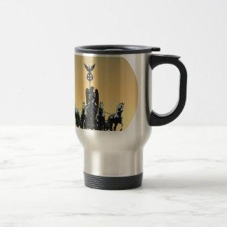 Berlin Quadriga Brandenburg Gate 002.1 rd Travel Mug