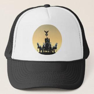 Berlin Quadriga Brandenburg Gate 002.1 rd Trucker Hat