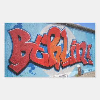 Berlin Rectangular Sticker