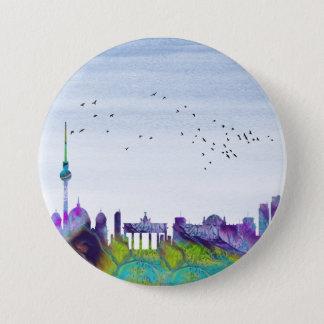 Berlin Skyline 7.5 Cm Round Badge