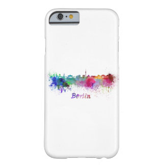 Berlin skyline in watercolor barely there iPhone 6 case