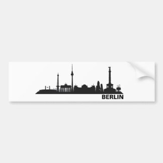Berlin skyline stickers