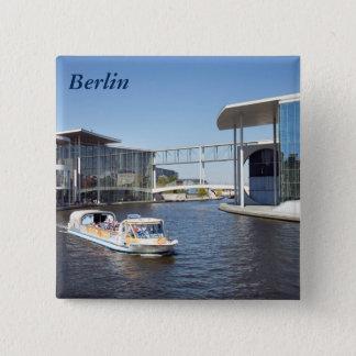 Berlin Spree 15 Cm Square Badge