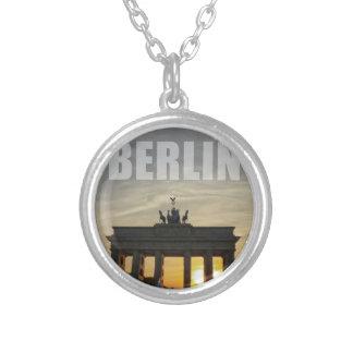 BERLIN, Sunset at the Brandenburg Gate Necklaces