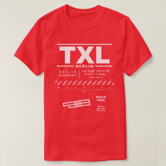 Berlin Tegel Airport TXL T-Shirt