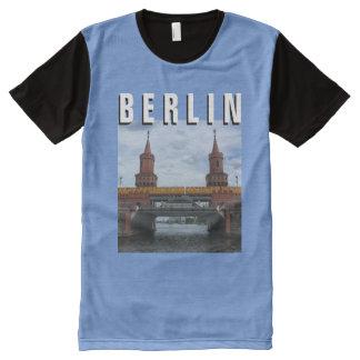 BERLIN, The Oberbaum Bridge All-Over Print T-Shirt