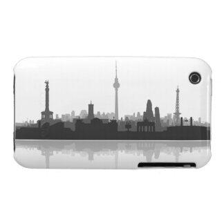 Berlin town center of skyline iPhone 3 sleeve iPhone 3 Case