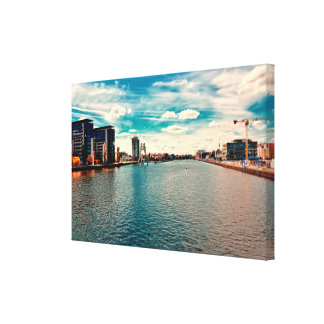 Berlin Treptoer Canvas Print