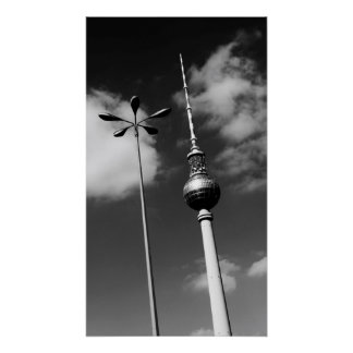 Berlin TV Tower 2013 Poster