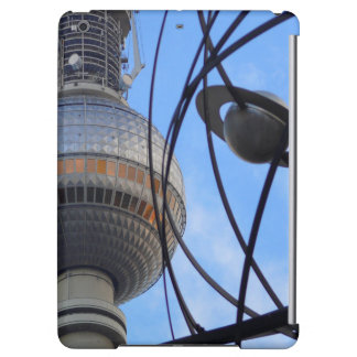 """BERLIN TV Tower with Detail of """"World Time Clock"""" iPad Air Case"""