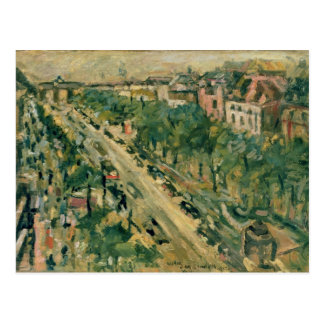 Berlin, Unter den Linden, 1922 Postcard