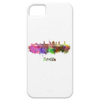 Berlin V2 skyline in watercolor iPhone 5 Cover