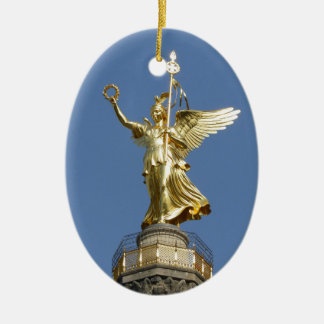 Berlin, Victory-Column 002.01 Ceramic Oval Decoration