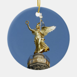 Berlin, Victory-Column 002.01 Round Ceramic Decoration