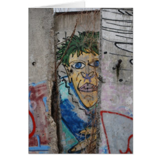 Berlin Wall Art - Berlin, Germany Card