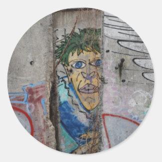 Berlin Wall Art - Berlin, Germany Round Sticker