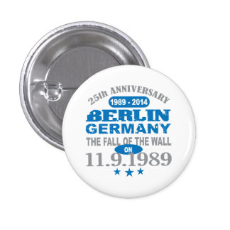 Berlin Wall Germany 25 Year Anniversary Pin