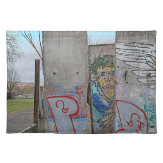 Berlin Wall graffiti art Placemat