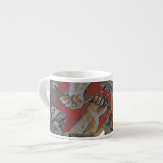 Berlin Wall Graffiti Large Espresso Mug