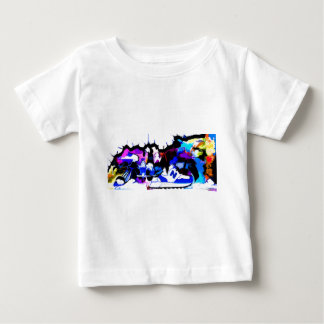 berlin-wall-graffiti-largest22 baby T-Shirt