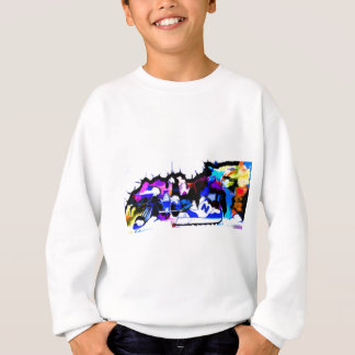 berlin-wall-graffiti-largest22 sweatshirt