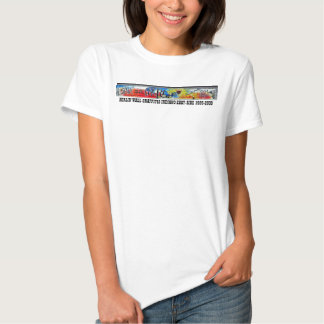 BERLIN WALL GRAFFITIS by INDIANO EAST-SIDE 1989 Shirt