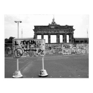 Berlin Wall Postcard