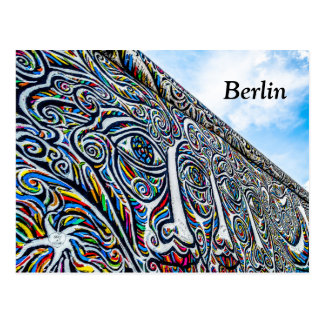 Berlin Wall Postcard