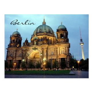 berliner dom postcard