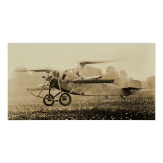 Berliner Helicopter at Take Off Poster