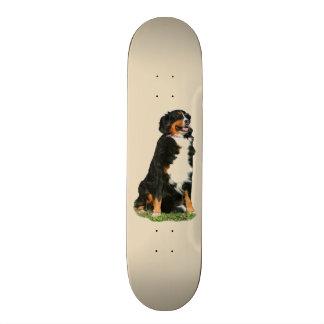 Bermese Mountain dog Skateboard Deck