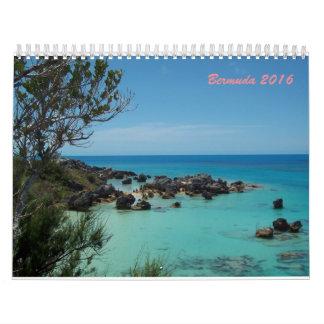 Bermuda 2017 wall calendars