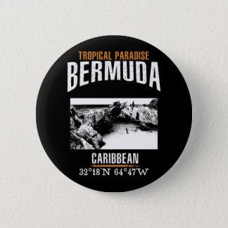 Bermuda 6 Cm Round Badge