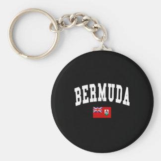 BERMUDA BASIC ROUND BUTTON KEY RING