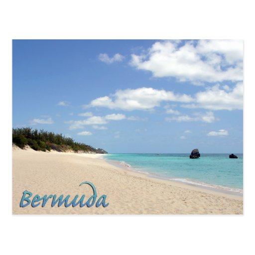 Bermuda Beach Post Card