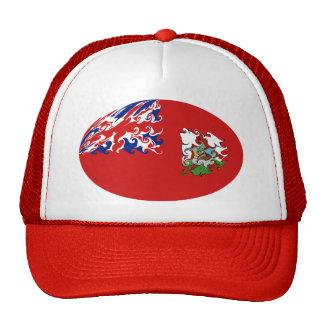 Bermuda Bhutan Flag Hat