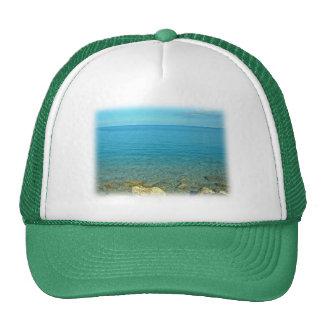 Bermuda: Blue Green Waters Trucker Hats