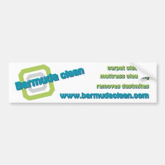 bermuda bumper sticker