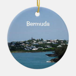 Bermuda Ceramic Ornament