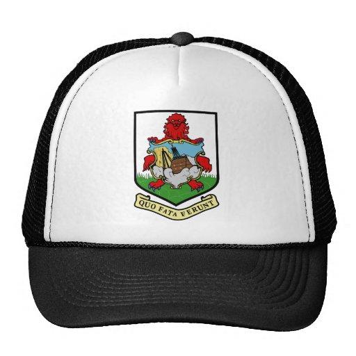 Bermuda Coat Of Arms Mesh Hat