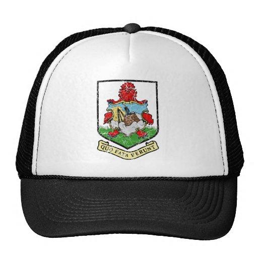 Bermuda Coat Of Arms Trucker Hats