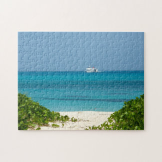Bermuda - Cruise Ship in Ocean Jigsaw Puzzle